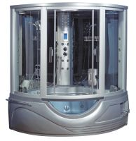 Парна душ кабина с хидромасажна вана SANOTECHNIK
