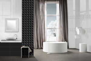 Серия плочки за баня BLACK&WHITE 20х50 см.