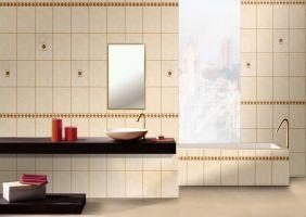 Серия плочки за баня CREMA MARFIL 23,5X35,5 см.