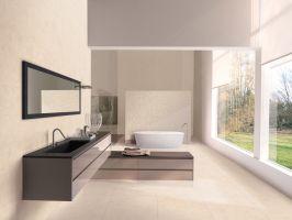 Серия плочки за баня CREMA MARFIL 25х75 см.
