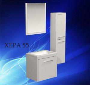 Комплект мебели за баня ХЕРА 55 см. - долен шкаф с мивка, огледало и колона