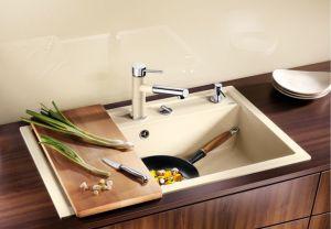 BLANCODALAGO 8 F SILGRANIT ™10 цвята кухненска мивка от синтетичен гранит