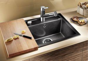 BLANCODALAGO 5 F SILGRANIT ™- 10 цвята кухненска мивка от синтетичен гранит
