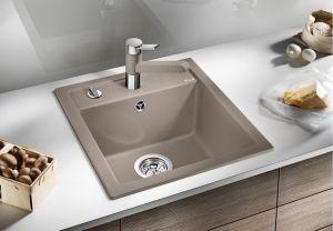 BLANCODALAGO 45 F SILGRANIT ™- 10 цвята кухненска мивка от синтетичен гранит