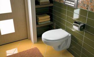 Комплект GEBERIT KOLO IDOL структура за вграждане GEBERIT с бутон, конзолна WC KOLO IDOL с дъска със забавено падане