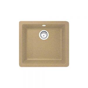 Кухненска мивка от синтетичен гранит ТЕКА RADEA 400/400, различни цветове