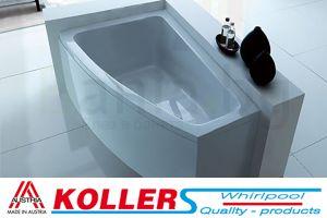 Хидромасажна вана PRAGA KOLLER Inovations, 160x90 cm, ъглова, асиметрична