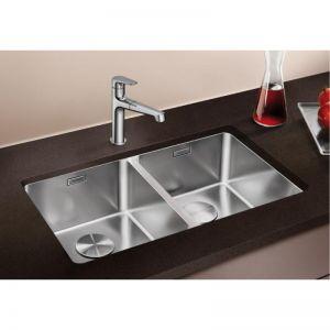 BLANCO ANDANO 340/340 - U кухненска мивка от инокс - под плот с автоматичен сифон