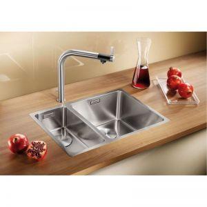 BLANCO ANDANO 340/180 - IF кухненска мивка от инокс - с плосък борд и автоматичен сифон