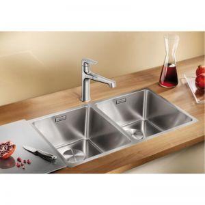 BLANCO ANDANO 340/340 -IF кухненска мивка от инокс с плосък борд и автоматичен сифон