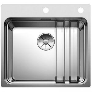 BLANCO ETAGON 500-IF/A кухненска мивка от инокс с автоматичен сифон
