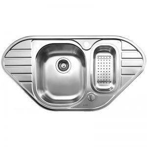 BLANCO LANIS 9E кухненска мивка от инокс с автоматичен сифон