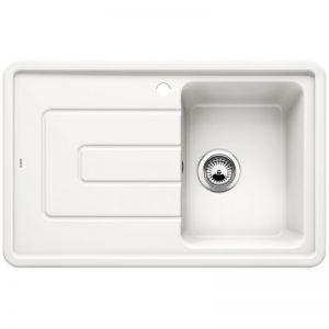 BLANCO TOLON 45 S Кухненска мивка керамика кристално бял гланц