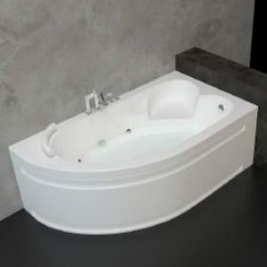 Хидромасажна вана ONYX Exlusive FLAT 10, ъглова, 160x90 cm, с нагревател