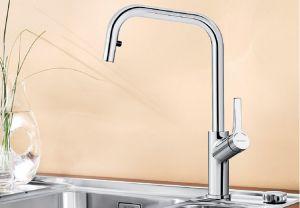 BLANCO JURENA- S хром Смесителна батерия за кухня с изтеглящ се душ
