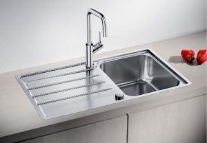 BLANCO LEMIS  45S- IF  Кухненска мивка от инокс с автоматичен сифон