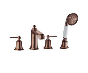 Тренд ORB четиридупков смесител за вграждане за вана и душ