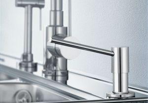 BLANCOTORRE - стомана с обработка, дозатор за кухненска мивка