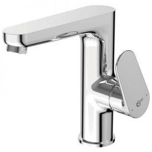 Смесител за мивка Ideal Standard TYRIA Хром, стоящ, с висок чучур, с изпразнител, BC161AA