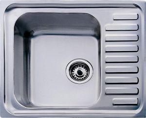 Кухненска мивка от инокс ТЕКА Super Bowl 1C - микролен