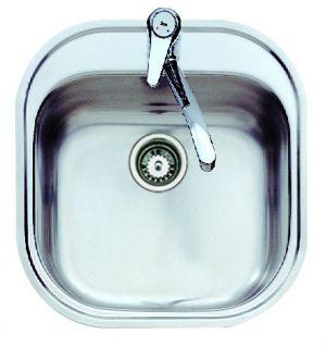 Кухненска мивка от инокс ТЕКА STYLO 1C