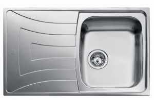 Кухненска мивка от инокс ТЕКА Universo 79 1С 1Е, микролен