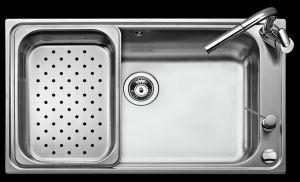 ТЕКА BIG BOWL 86 1C (Bahia Plus)Кухненска мивка от инокс -Най-голямо и дълбоко корито