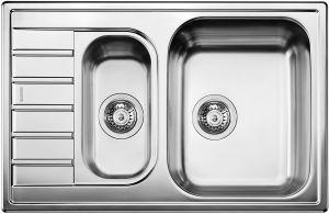 Кухненска мивка от инокс BLANCOLIVIT 6S Compact лен