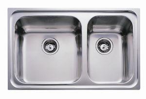 Кухненска мивка от инокс ТЕКА  Super Bowl 86  2С  MAX
