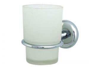 Аксесоари за баня МОМО 1 ОРХИДЕЯ -Чаша стъклена