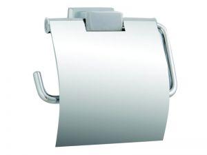 Аксесоари за баня МОМО 1 ЕВКАЛИПТ-Държач за тоалетна хартия + капак