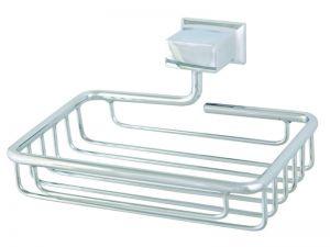 Аксесоари за баня МОМО 1 ЕВКАЛИПТ-Сапунерка метална - мрежа