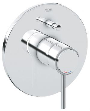 GROHE ATRIO, 1-ръкохватков смесител за вграждане за вана/душ, външна част, без тяло за вграждане (35501),