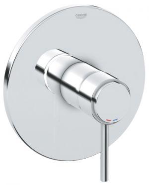 GROHE ATRIO, 1-ръкохватков смесител за вграждане за душ, външна част, без тяло за вграждане (35501),