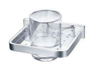 СОФИЯ стъклена чаша с държач