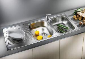 BLANCOTIPO 8S Кухненска мивка от инокс