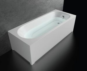 Акрилна вана SMARAGD, правоъгълна - комплект с носеща конструкция и панели, различни размери
