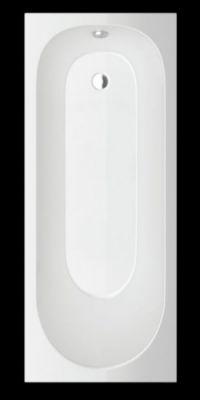 Акрилна вана SMARAGD, правоъгълна, комплект с носеща конструкция - различни размери