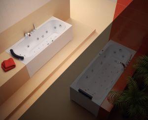 Хидромасажна вана SMARAGD Standard Flat 10, различни размери