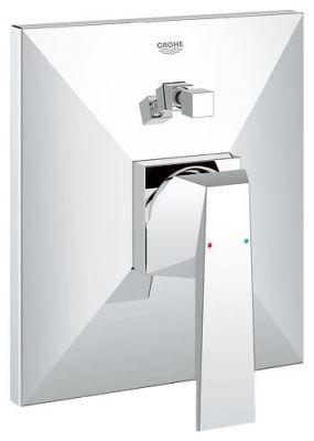 GROHE Allure Brilliant, 1-ръкохватков смесител за вграждане за вана/душ, външна част към  тяло за вграждане 35501, без тяло за вграждане