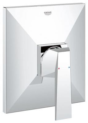GROHE Allure Brilliant, 1-ръкохватков смесител за вграждане за душ, външна част към  тяло за вграждане 35501, без тяло за вграждане