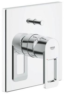GROHE Quadra, 1-ръкохватков смесител за вграждане за душ/вана , външна част, без тяло за  вграждане (35501), хром