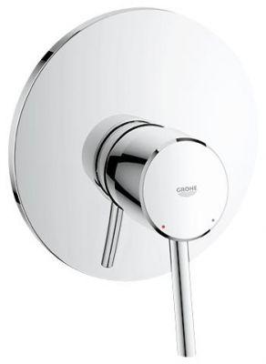 GROHE Concetto, 1-ръкохватков смесител за вграждане за душ, външна част към тяло за вграждане 35501, 33962, 33964, без тяло за вграждане