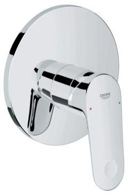 GROHE Europlus, 1-ръкохватков смесител за вграждане за душ, външна част, без тяло  за вграждане (35501).