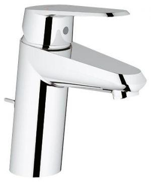 """GROHE Eurodisc Cosmopolitan EcoJoy®, Смесител за умивалник 1/2"""" с изпразнител 1 1/4"""", пестяща вода"""
