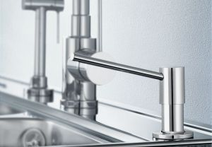 BLANCOTORRE - хром дозатор за кухненска мивка