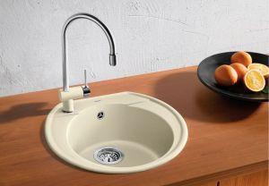 BLANCORONDOVAL 45 SILGRANIT ™ -10 цвята кухненска мивка от синтетичен гранит