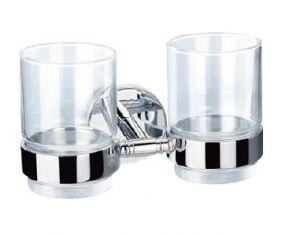Чаша - двойна, с поставка АПОЛО