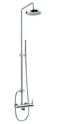 ДЖУНО душ колона +телескопичен душ с метална пита BS 11H