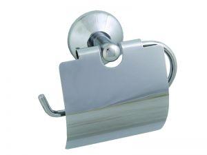 Аксесоари за баня МОМО 1 ГАРДЕНИЯ-Държач за тоалетна хария с капак